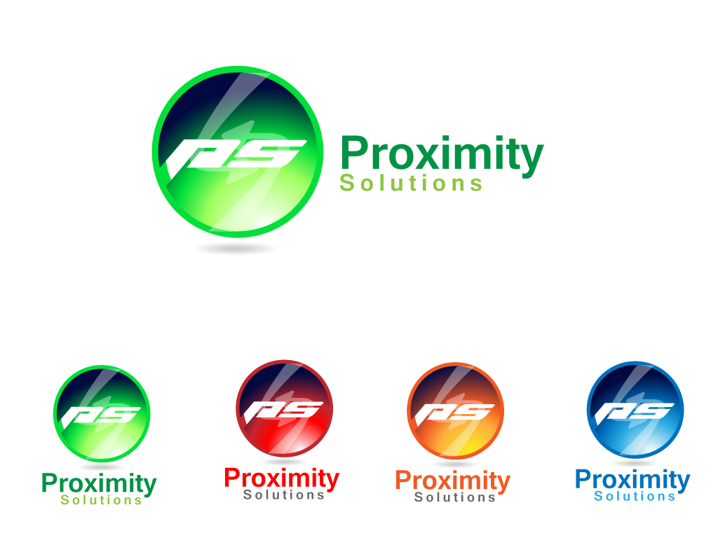 Logo Design by Jagdeep Singh - Entry No. 81 in the Logo Design Contest New Logo Design for Proximity Solutions.