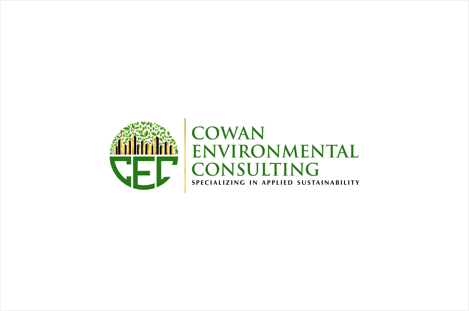Logo Design by haidu - Entry No. 53 in the Logo Design Contest Fun Logo Design for Cowan Environmental Consulting.
