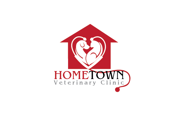 Logo Design by Private User - Entry No. 4 in the Logo Design Contest Captivating Logo Design for Hometown Veterinary Clinic.