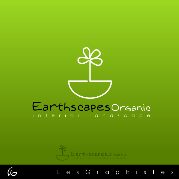 Logo Design by Les-Graphistes - Entry No. 28 in the Logo Design Contest Earthscapes Organic.