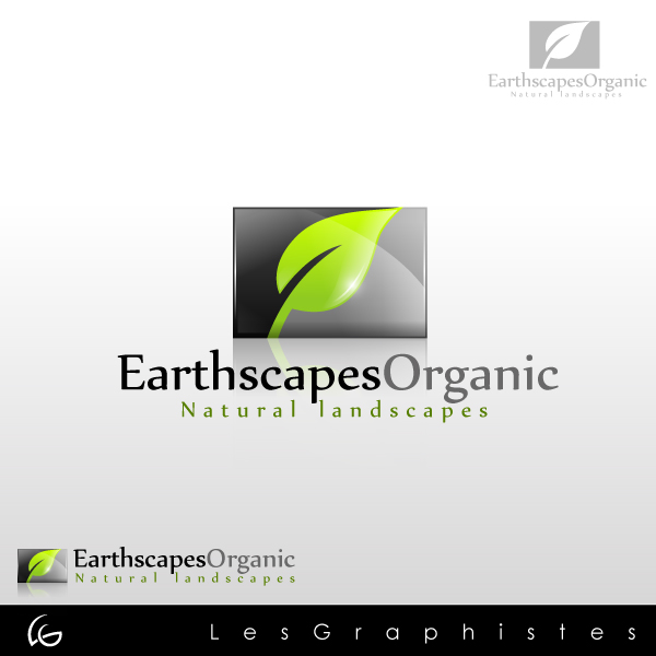 Logo Design by Les-Graphistes - Entry No. 29 in the Logo Design Contest Earthscapes Organic.