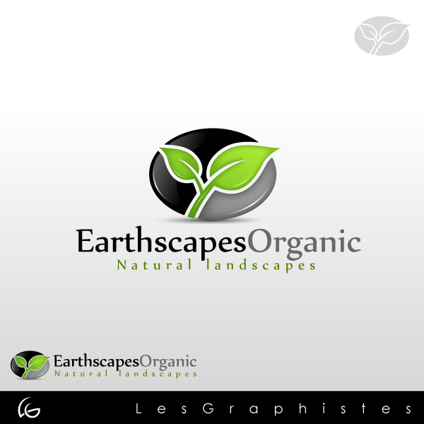 Logo Design by Les-Graphistes - Entry No. 30 in the Logo Design Contest Earthscapes Organic.
