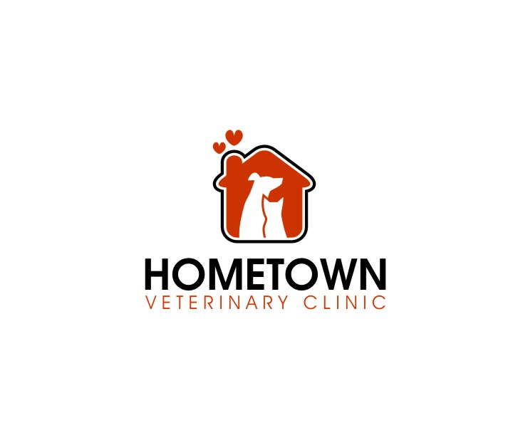Logo Design by untung - Entry No. 5 in the Logo Design Contest Captivating Logo Design for Hometown Veterinary Clinic.