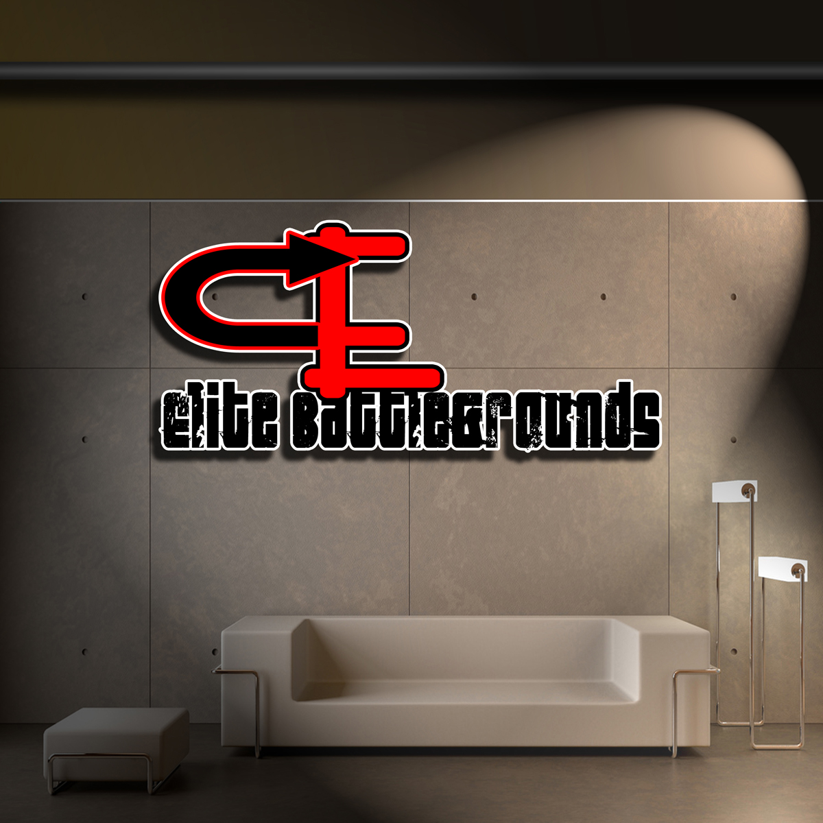 Logo Design by MITUCA ANDREI - Entry No. 13 in the Logo Design Contest Creative Logo Design for Elite Battlegrounds.