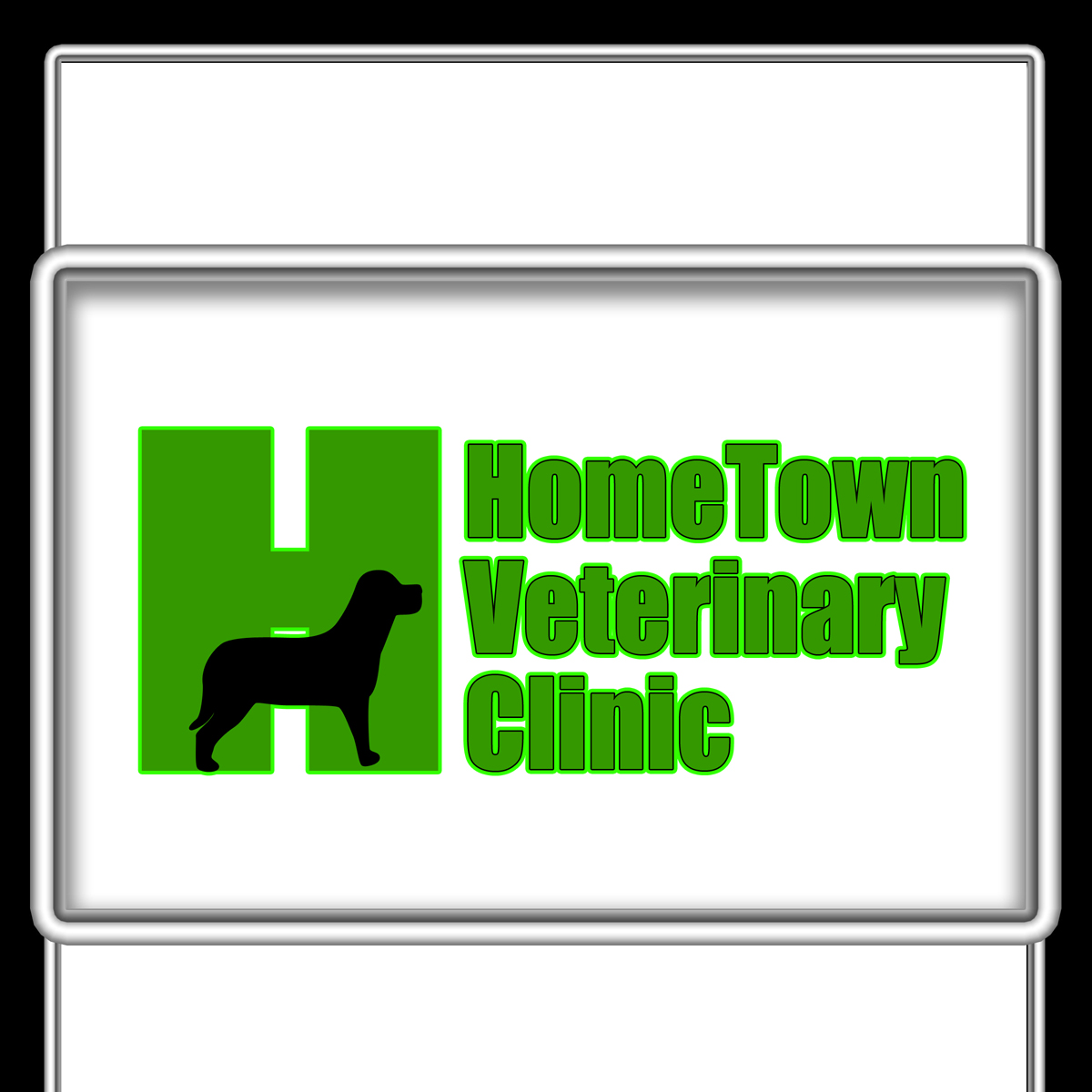 Logo Design by MITUCA ANDREI - Entry No. 6 in the Logo Design Contest Captivating Logo Design for Hometown Veterinary Clinic.