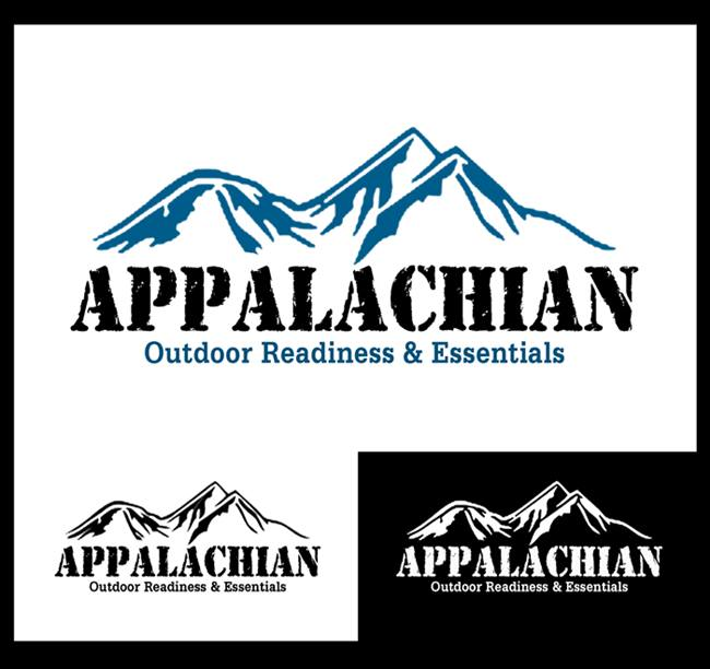 Logo Design by Respati Himawan - Entry No. 42 in the Logo Design Contest Imaginative Logo Design for Appalachian Outdoor Readiness & Essentials.
