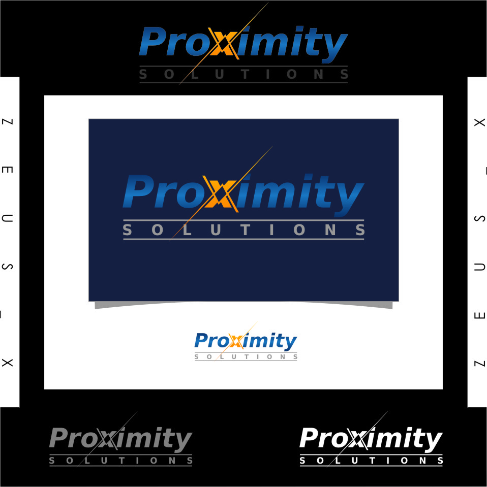 Logo Design by RoSyid Rono-Rene On Java - Entry No. 98 in the Logo Design Contest New Logo Design for Proximity Solutions.