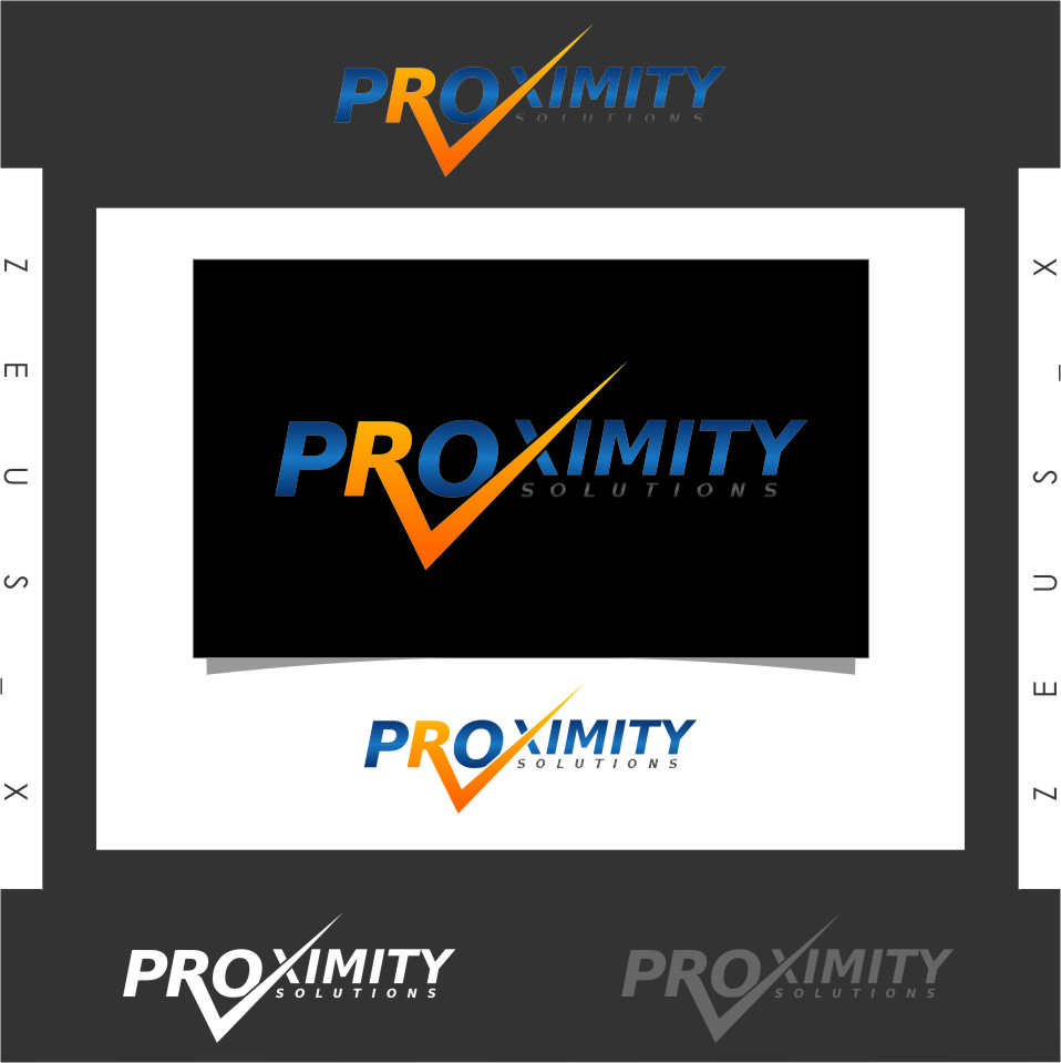 Logo Design by RasYa Muhammad Athaya - Entry No. 100 in the Logo Design Contest New Logo Design for Proximity Solutions.