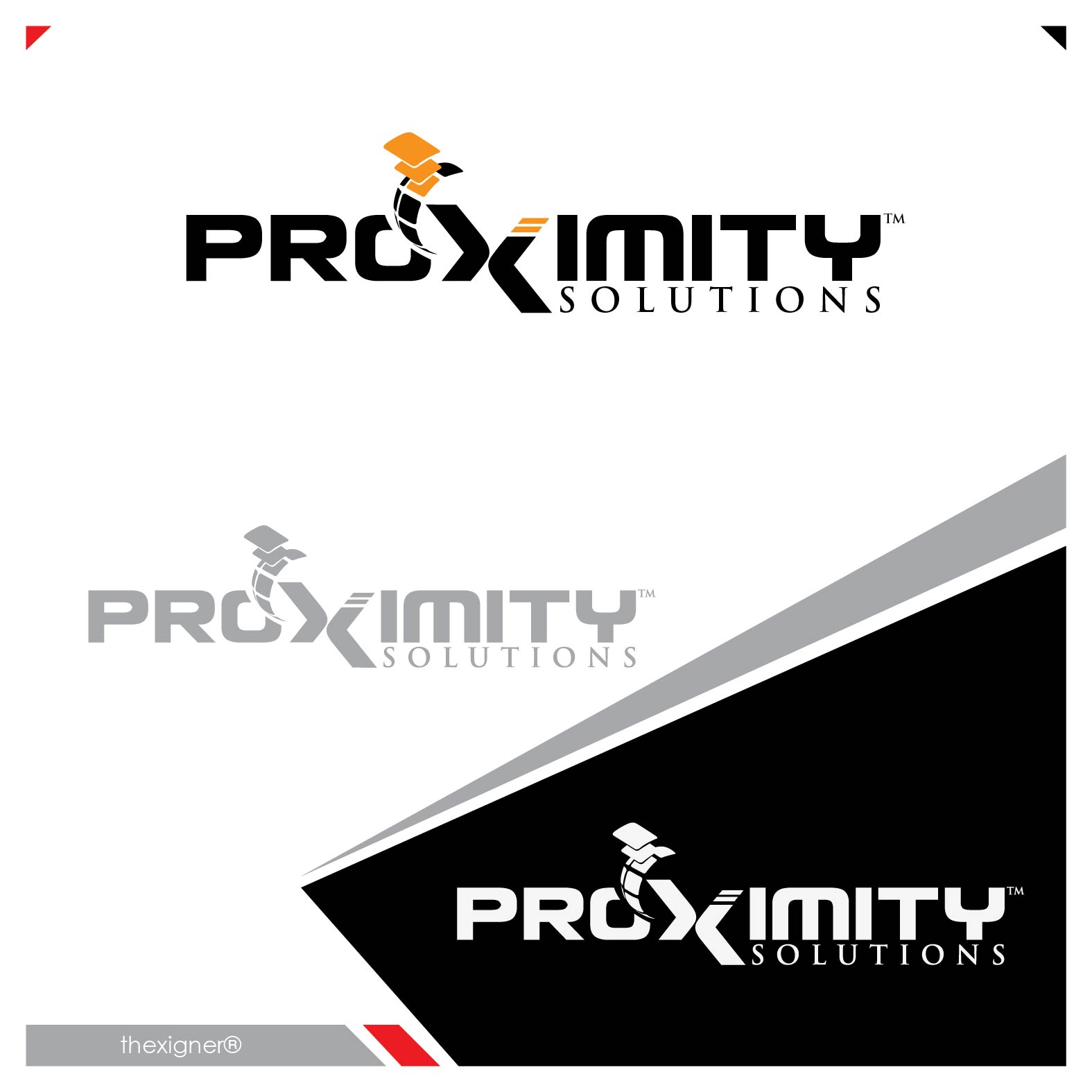 Logo Design by lagalag - Entry No. 102 in the Logo Design Contest New Logo Design for Proximity Solutions.