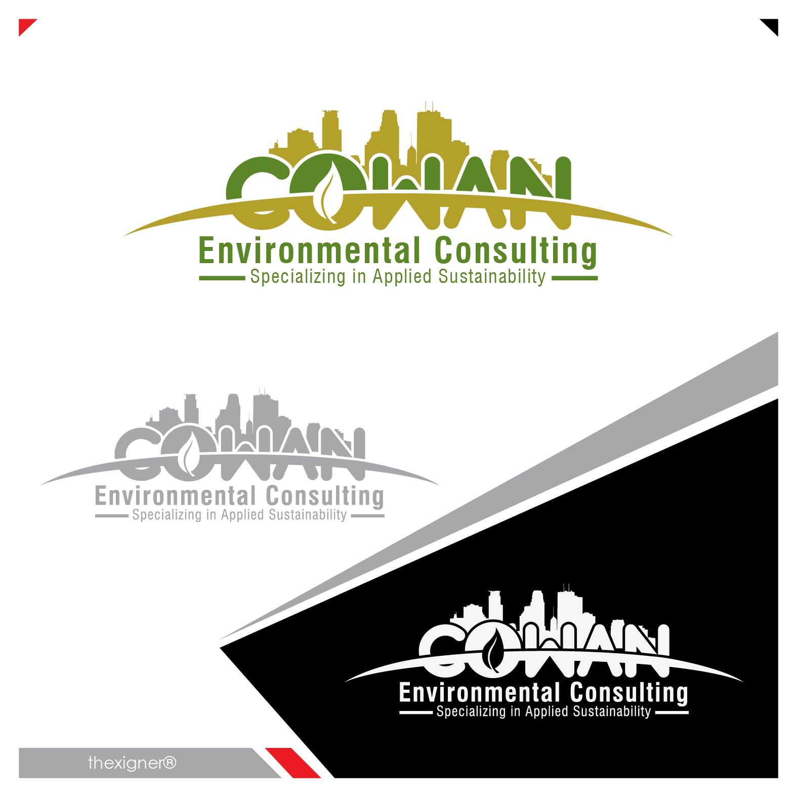 Logo Design by lagalag - Entry No. 58 in the Logo Design Contest Fun Logo Design for Cowan Environmental Consulting.