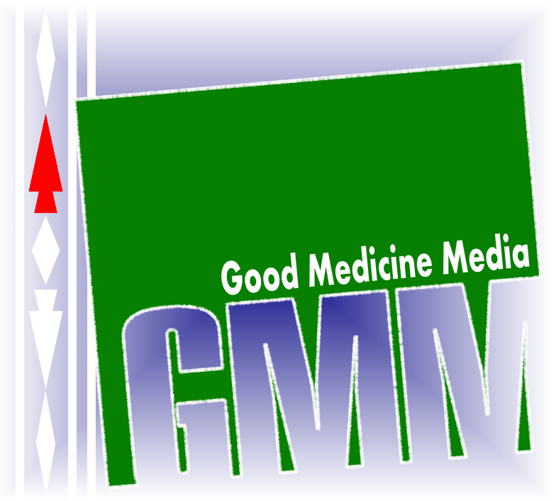 Logo Design by Edgar Monetathchi - Entry No. 24 in the Logo Design Contest Good Medicine Media Logo Design.