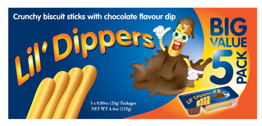 Packaging Design by Severiano Fernandes - Entry No. 18 in the Packaging Design Contest Inspiring Packaging Design for Lil' Dippers.