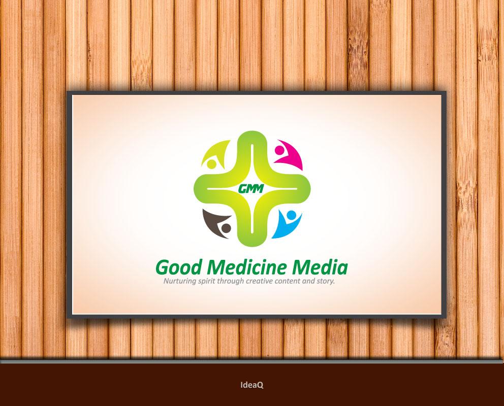 Logo Design by Private User - Entry No. 25 in the Logo Design Contest Good Medicine Media Logo Design.