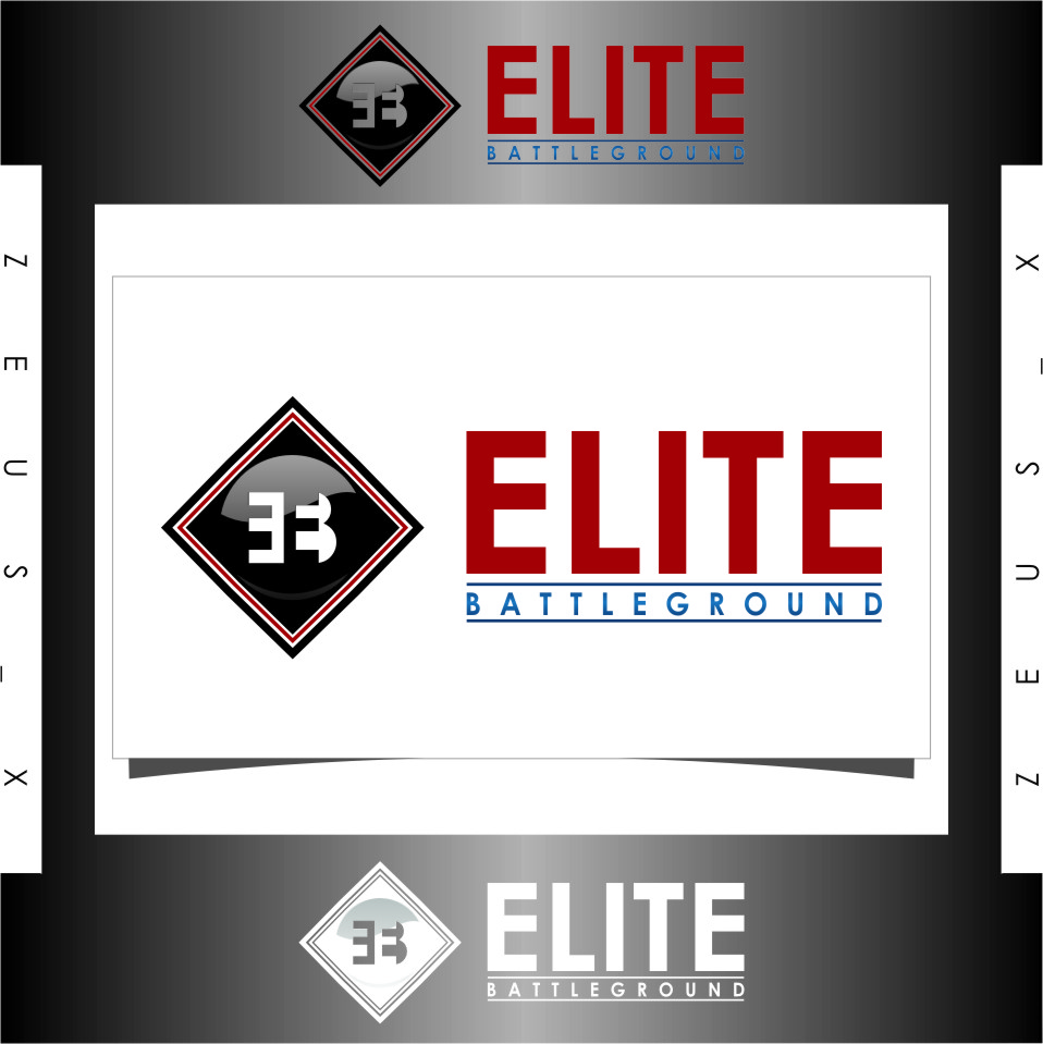 Logo Design by RasYa Muhammad Athaya - Entry No. 34 in the Logo Design Contest Creative Logo Design for Elite Battlegrounds.