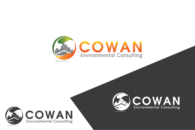 Logo Design by Private User - Entry No. 62 in the Logo Design Contest Fun Logo Design for Cowan Environmental Consulting.