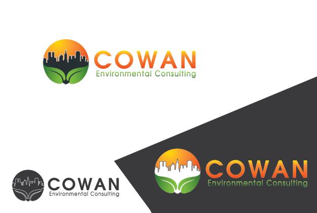 Logo Design by Private User - Entry No. 63 in the Logo Design Contest Fun Logo Design for Cowan Environmental Consulting.