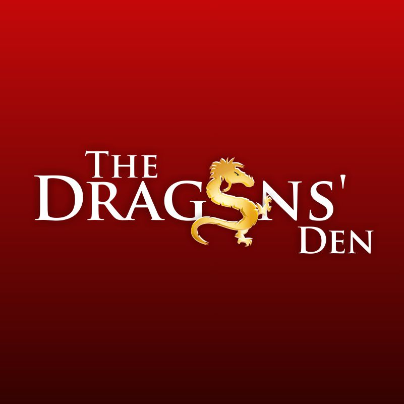 Logo Design by mare-ingenii - Entry No. 3 in the Logo Design Contest The Dragons' Den needs a new logo.