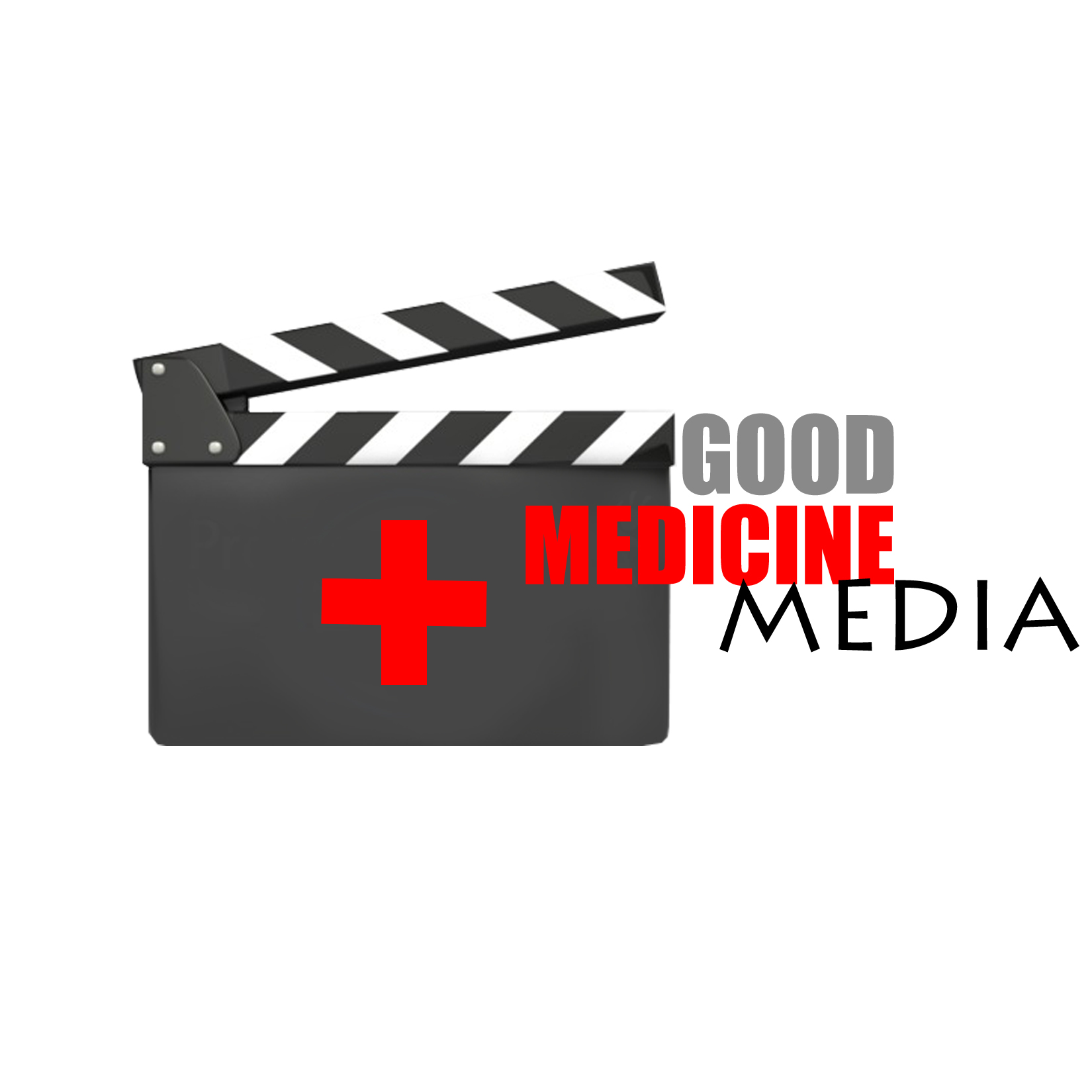 Logo Design by Rakia Raza - Entry No. 30 in the Logo Design Contest Good Medicine Media Logo Design.