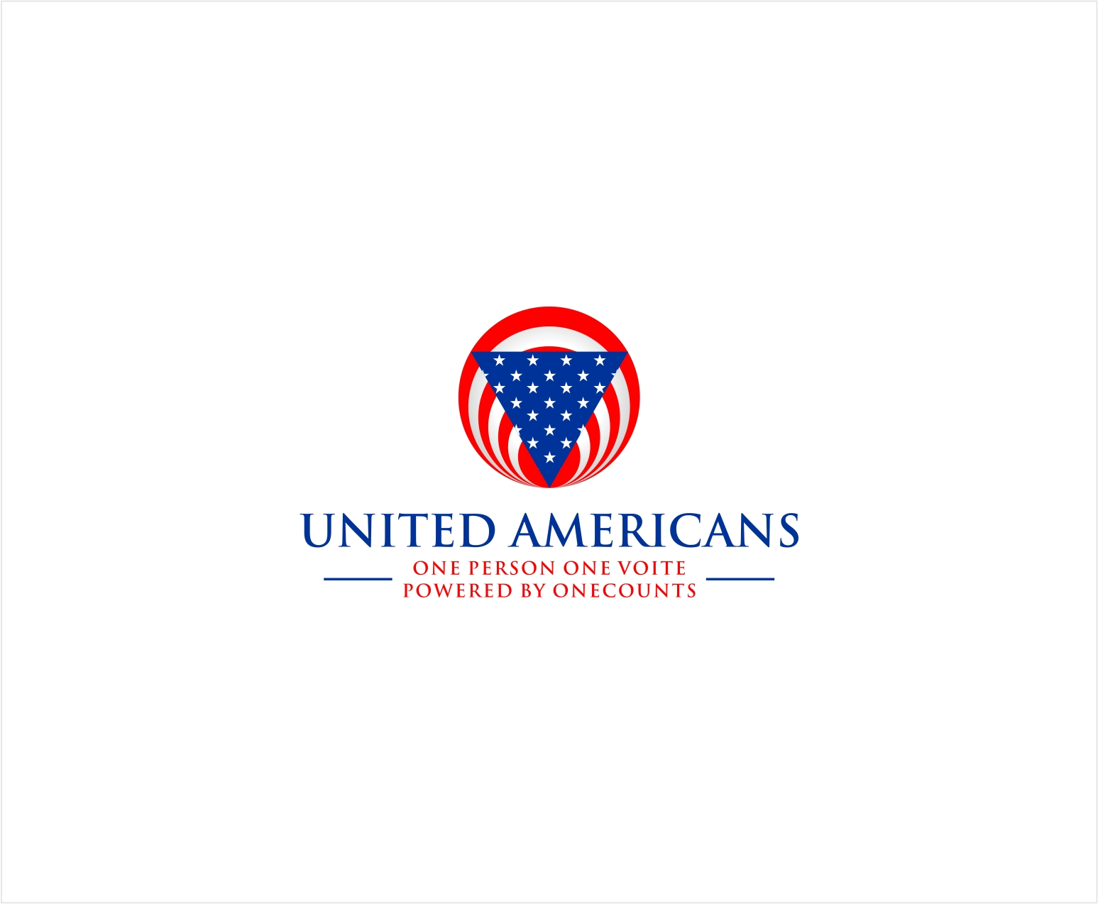Logo Design by haidu - Entry No. 4 in the Logo Design Contest Creative Logo Design for United Americans.
