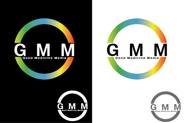 Logo Design by Private User - Entry No. 33 in the Logo Design Contest Good Medicine Media Logo Design.