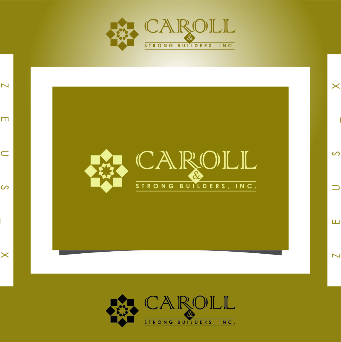 Logo Design by RasYa Muhammad Athaya - Entry No. 2 in the Logo Design Contest New Logo Design for Carroll & Strong Builders, Inc..