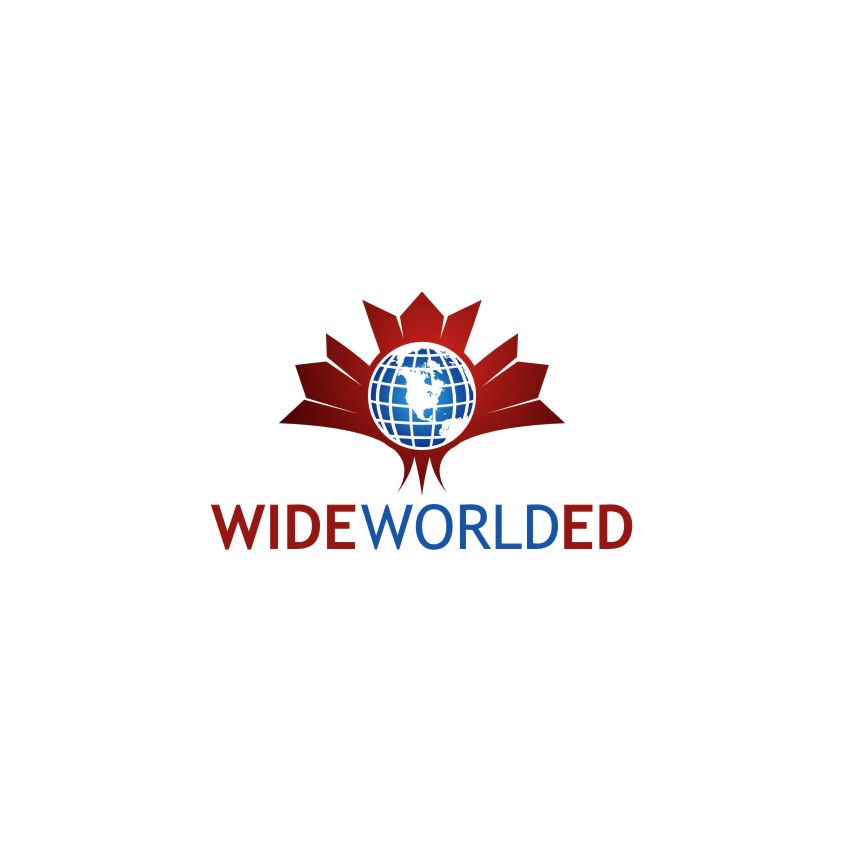 Logo Design by untung - Entry No. 5 in the Logo Design Contest New Logo Design for Wide World Ed.