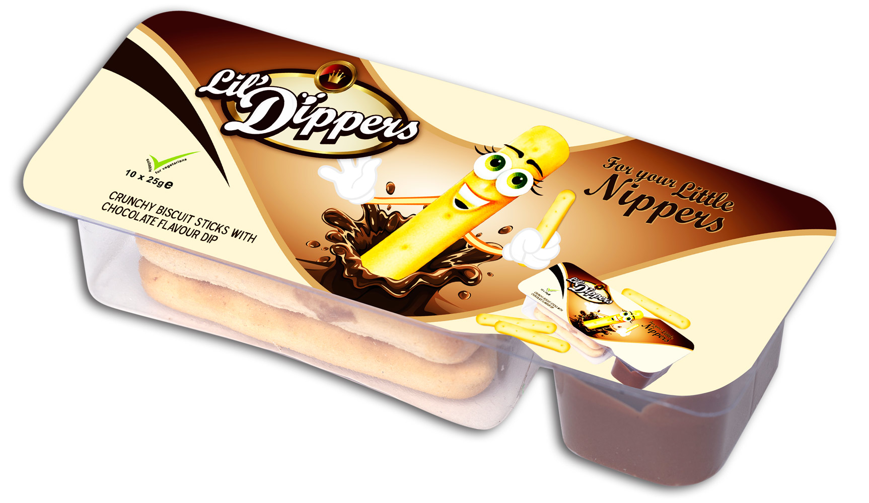 Packaging Design by lagalag - Entry No. 23 in the Packaging Design Contest Inspiring Packaging Design for Lil' Dippers.