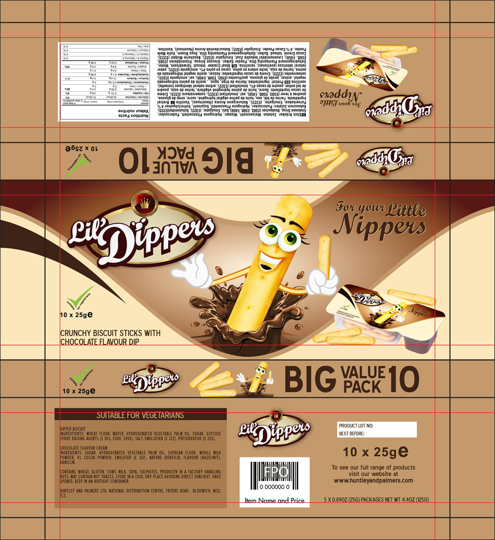 Packaging Design by lagalag - Entry No. 24 in the Packaging Design Contest Inspiring Packaging Design for Lil' Dippers.