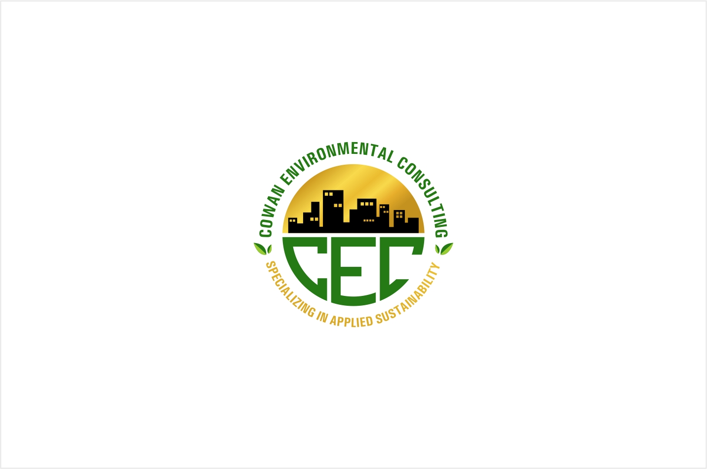 Logo Design by haidu - Entry No. 69 in the Logo Design Contest Fun Logo Design for Cowan Environmental Consulting.
