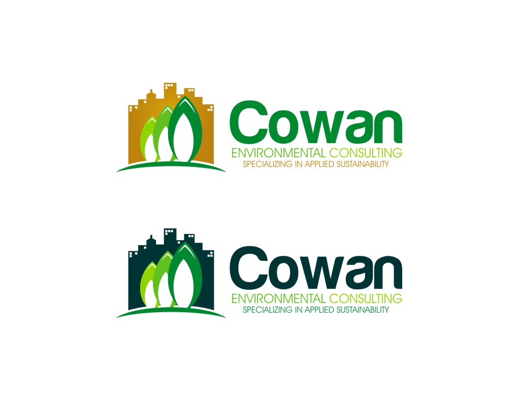 Logo Design by untung - Entry No. 71 in the Logo Design Contest Fun Logo Design for Cowan Environmental Consulting.