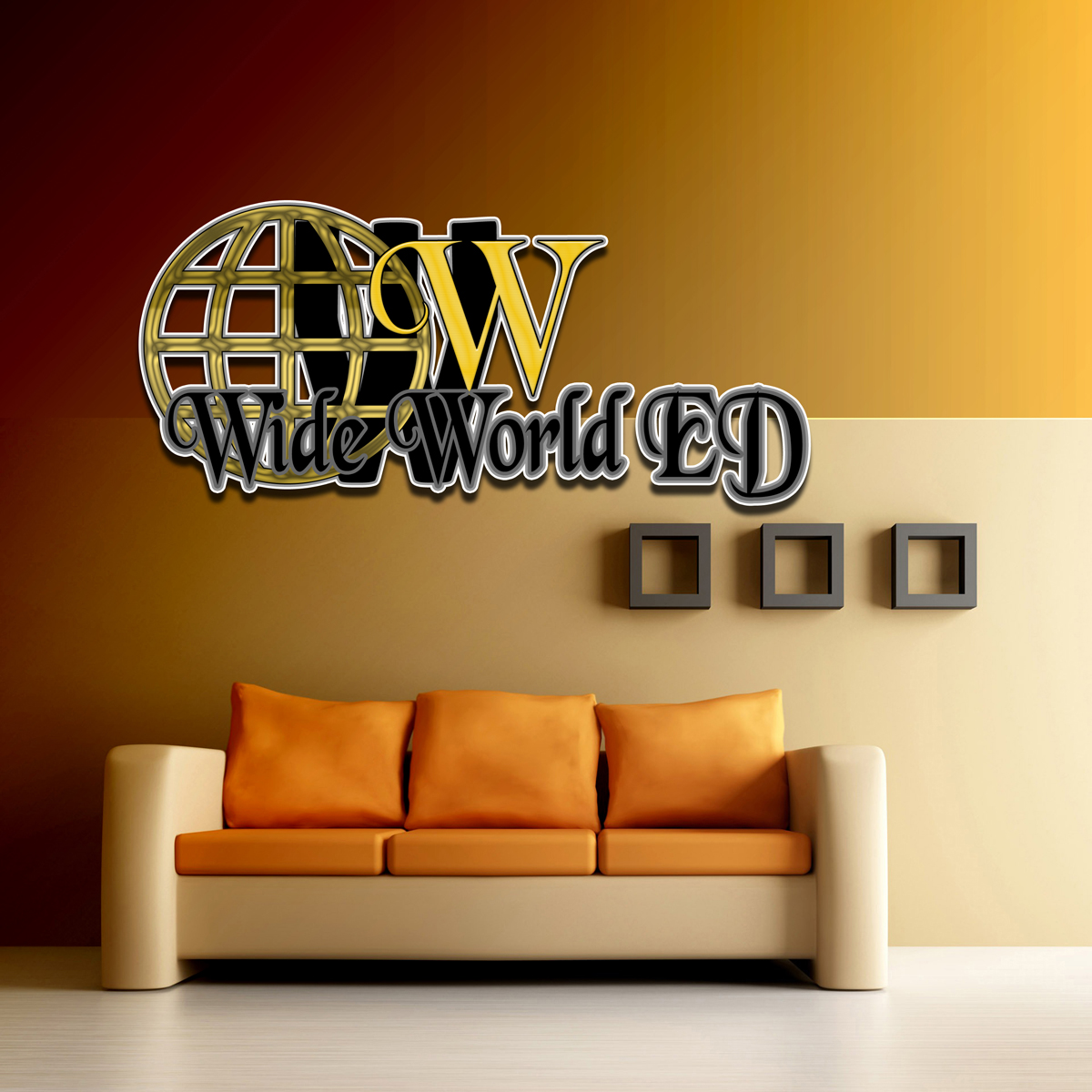 Logo Design by MITUCA ANDREI - Entry No. 15 in the Logo Design Contest New Logo Design for Wide World Ed.