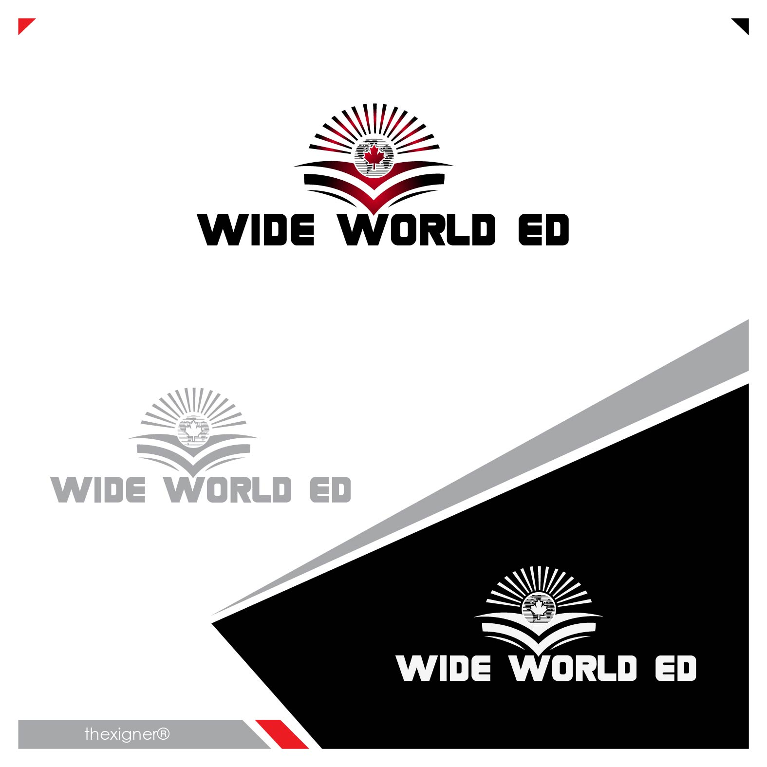 Logo Design by lagalag - Entry No. 16 in the Logo Design Contest New Logo Design for Wide World Ed.