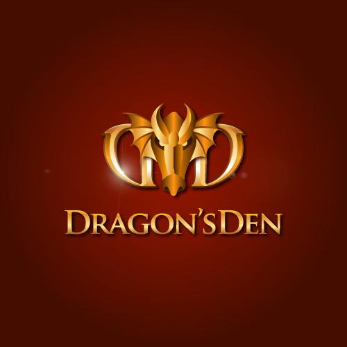 Logo Design by SilverEagle - Entry No. 13 in the Logo Design Contest The Dragons' Den needs a new logo.