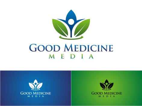 Logo Design by key - Entry No. 39 in the Logo Design Contest Good Medicine Media Logo Design.