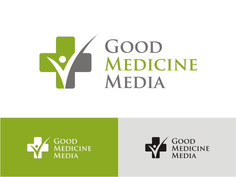 Logo Design by key - Entry No. 40 in the Logo Design Contest Good Medicine Media Logo Design.