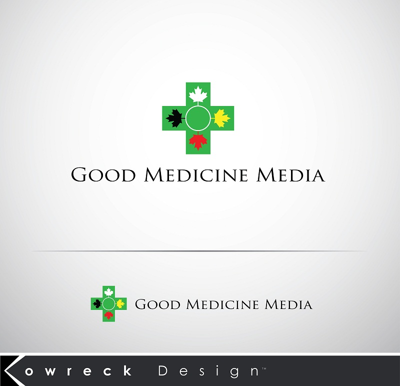 Logo Design by kowreck - Entry No. 41 in the Logo Design Contest Good Medicine Media Logo Design.