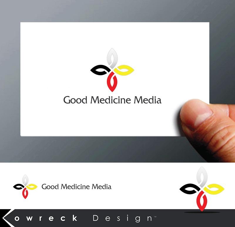 Logo Design by kowreck - Entry No. 42 in the Logo Design Contest Good Medicine Media Logo Design.