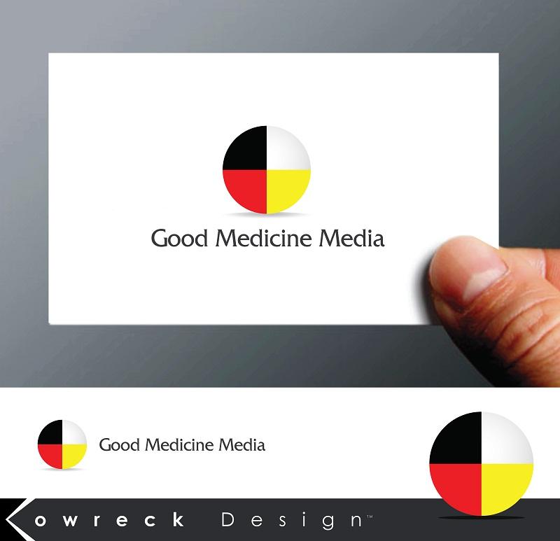 Logo Design by kowreck - Entry No. 43 in the Logo Design Contest Good Medicine Media Logo Design.