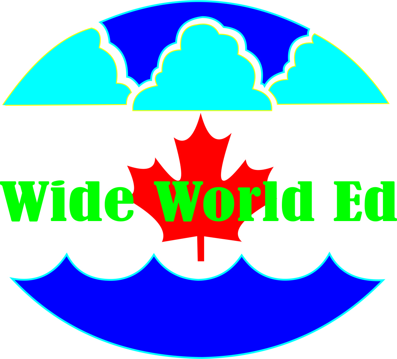 Logo Design by Teguh Hanuraga - Entry No. 18 in the Logo Design Contest New Logo Design for Wide World Ed.