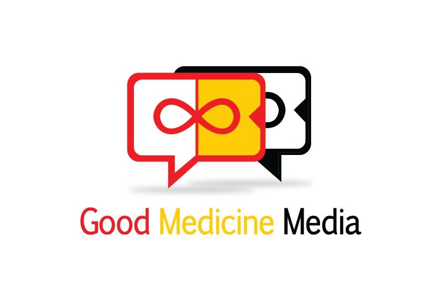 Logo Design by Christina Evans - Entry No. 44 in the Logo Design Contest Good Medicine Media Logo Design.