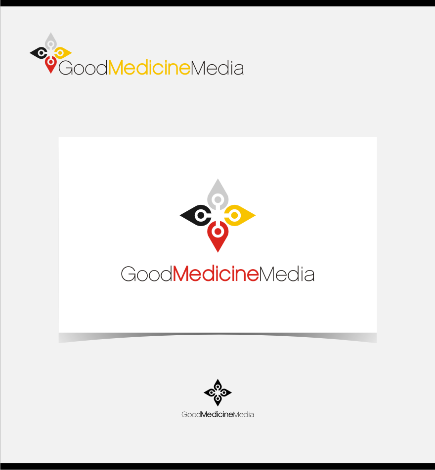 Logo Design by graphicleaf - Entry No. 46 in the Logo Design Contest Good Medicine Media Logo Design.