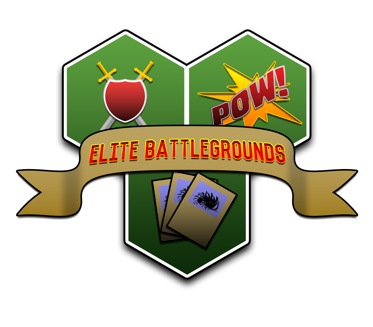 Logo Design by Private User - Entry No. 43 in the Logo Design Contest Creative Logo Design for Elite Battlegrounds.