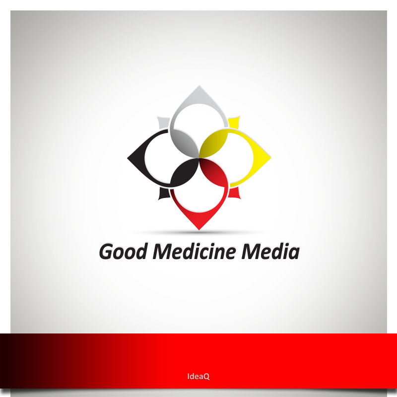 Logo Design by Private User - Entry No. 47 in the Logo Design Contest Good Medicine Media Logo Design.