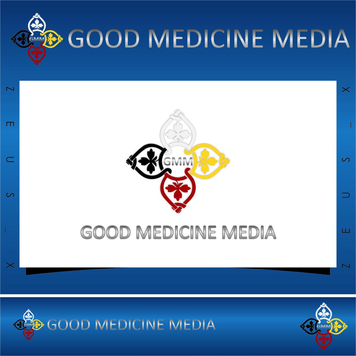 Logo Design by RasYa Muhammad Athaya - Entry No. 48 in the Logo Design Contest Good Medicine Media Logo Design.