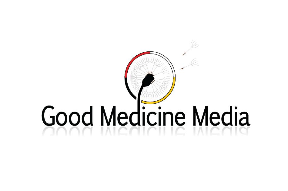 Logo Design by Christina Evans - Entry No. 49 in the Logo Design Contest Good Medicine Media Logo Design.