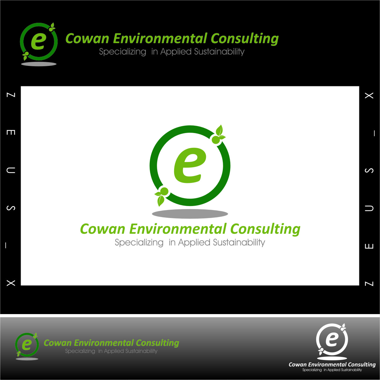 Logo Design by RasYa Muhammad Athaya - Entry No. 74 in the Logo Design Contest Fun Logo Design for Cowan Environmental Consulting.