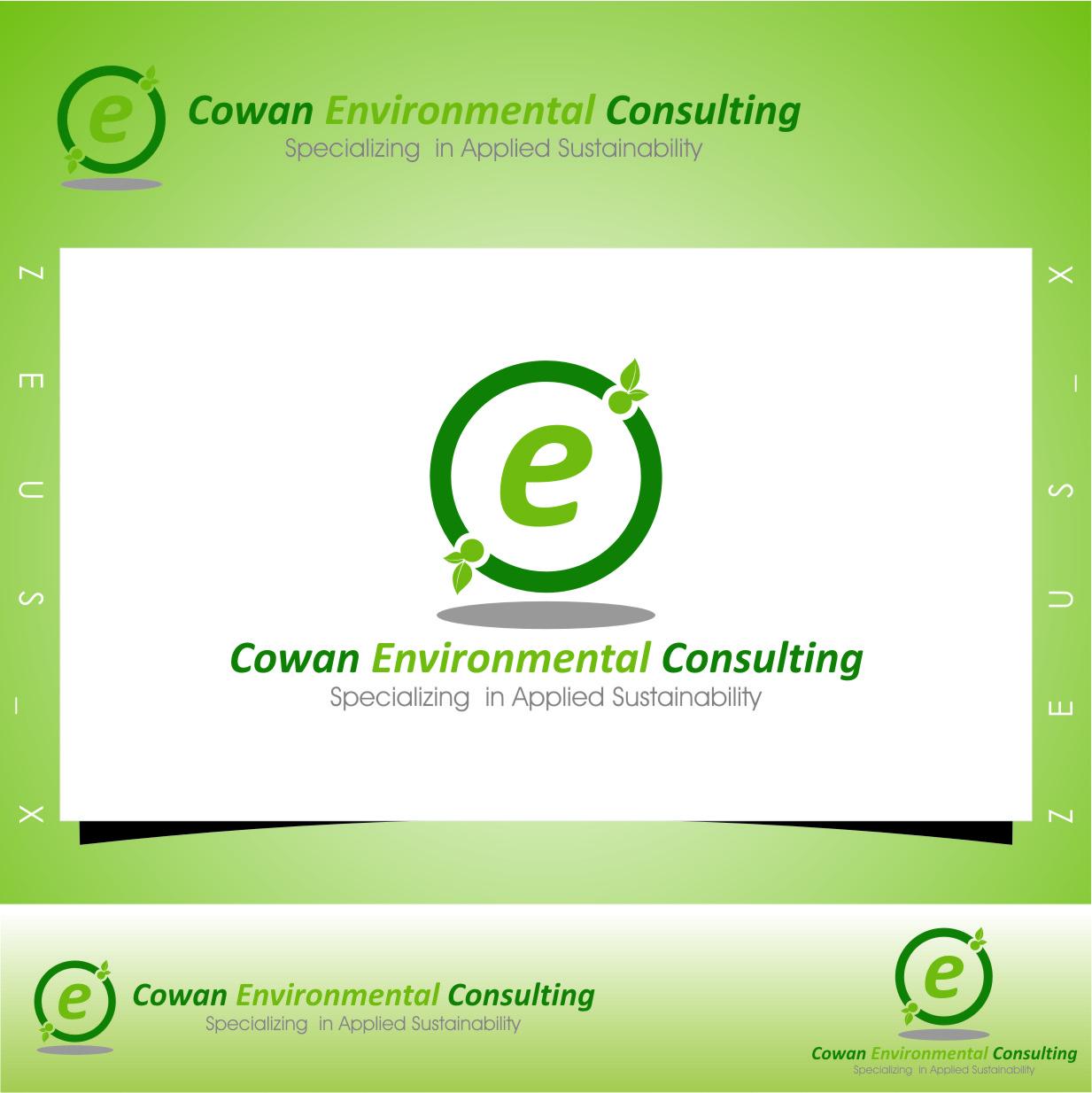Logo Design by RasYa Muhammad Athaya - Entry No. 75 in the Logo Design Contest Fun Logo Design for Cowan Environmental Consulting.