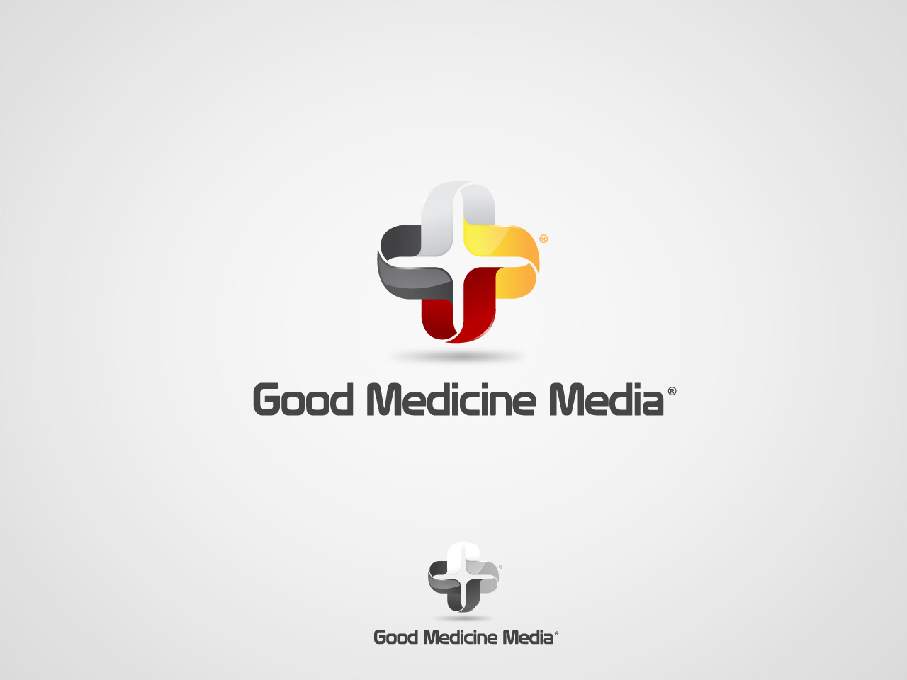 Logo Design by jpbituin - Entry No. 52 in the Logo Design Contest Good Medicine Media Logo Design.