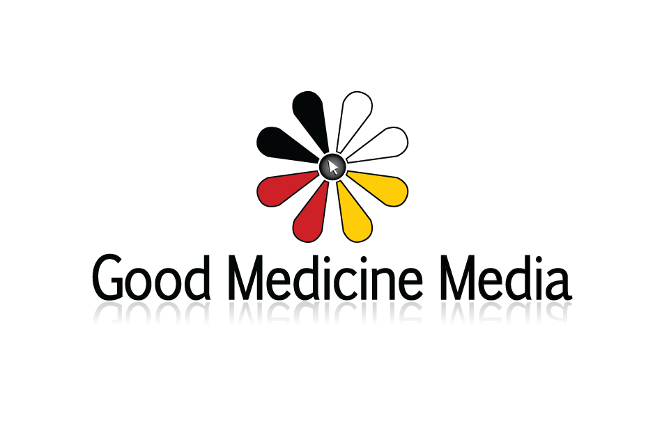 Logo Design by Christina Evans - Entry No. 53 in the Logo Design Contest Good Medicine Media Logo Design.