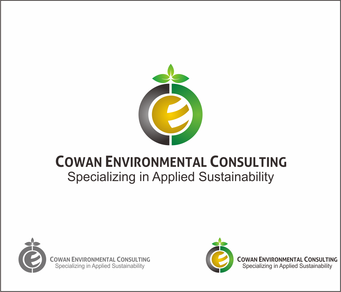 Logo Design by Armada Jamaluddin - Entry No. 82 in the Logo Design Contest Fun Logo Design for Cowan Environmental Consulting.